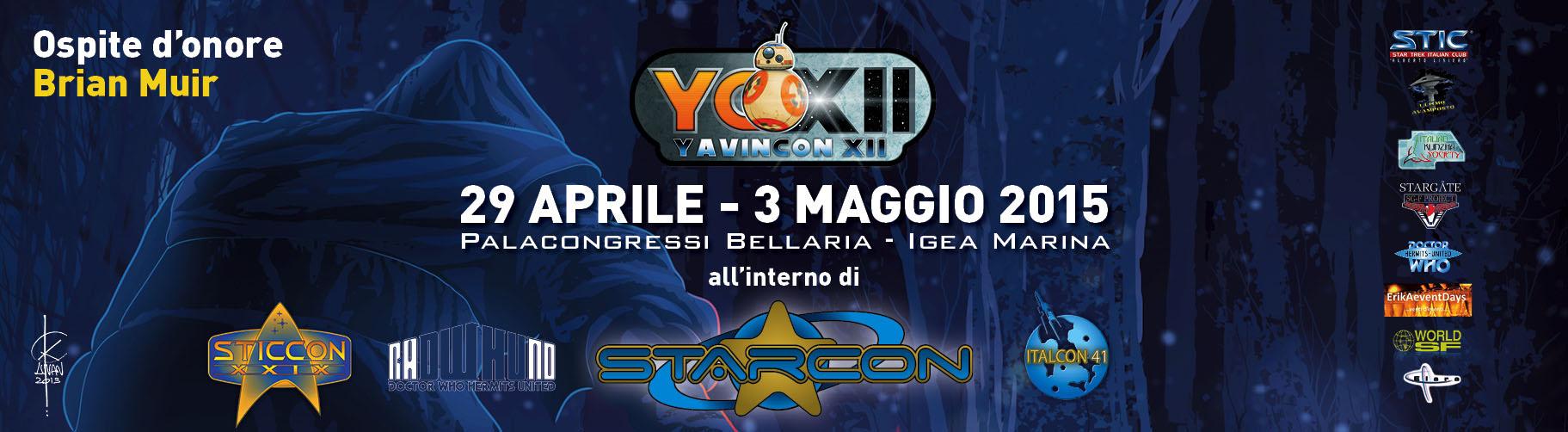 Yavincon XII, 29 aprile - 3 maggio 2015